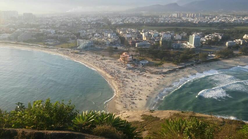 Aluguel de quarto,em frente à praia, Recreio,RJ
