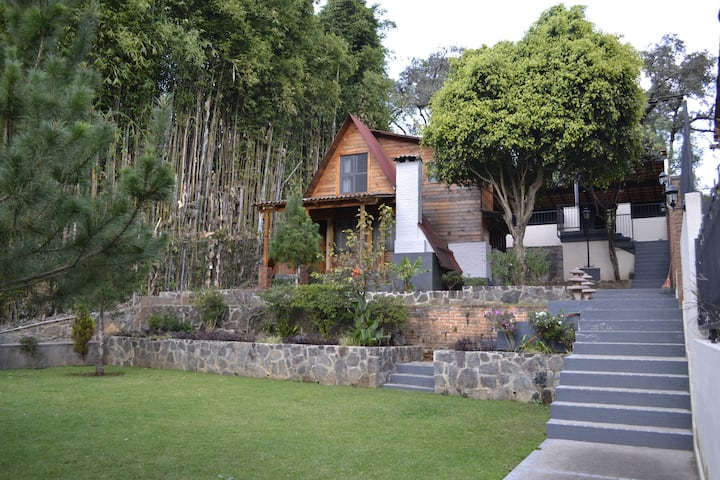 Cabaña Angelina 1 - Cerca del centro de Avándaro