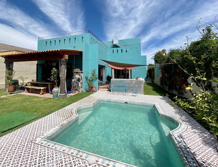 Casa Feliz! Big, beautiful, modern Mexican home