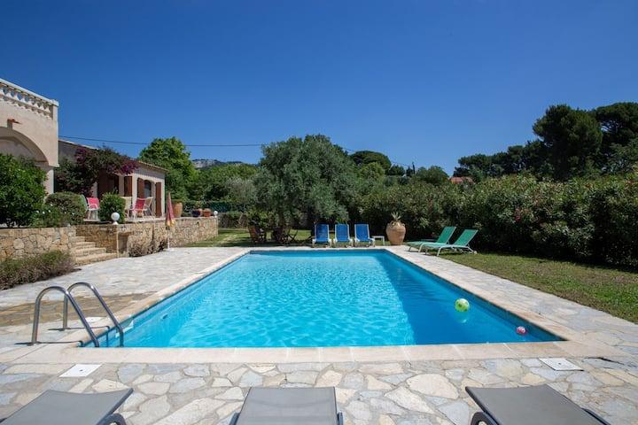 Heerlijke vakantiewoning in Ollioules met zwembad