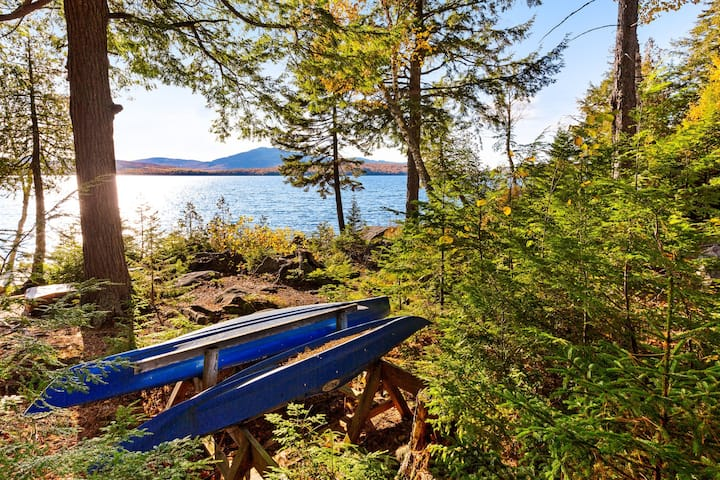 Lakefront home w/ beautiful mountain & lake views - two dogs welcome!