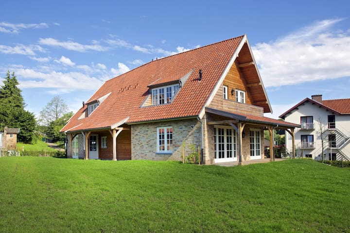 Beautiful villa in Slenaken with Garden
