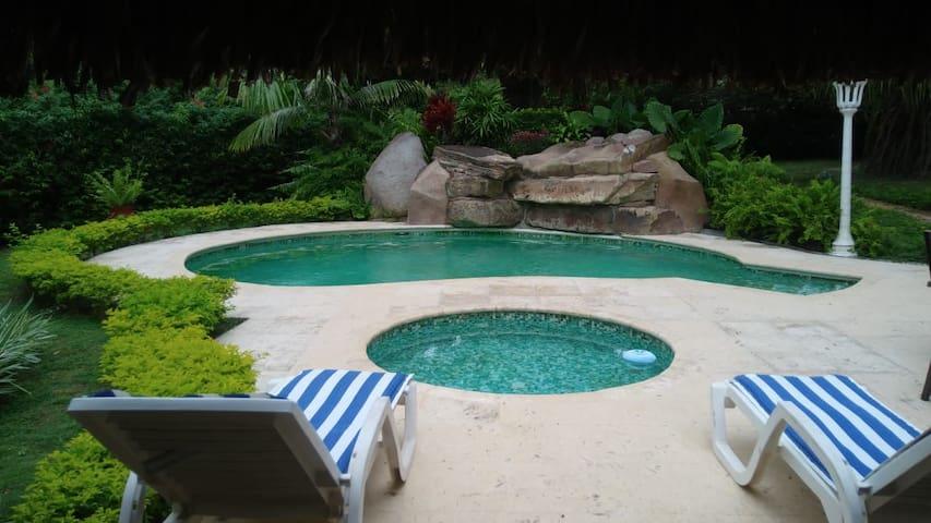 Private Beach House in Playa Coronado.