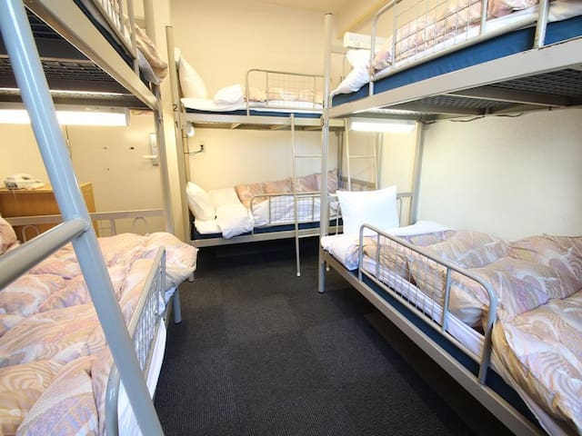 6mins->Ikebukuro Sta/1bed/Female Dorm+Breakfast