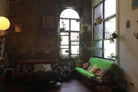 Incredible Huge Artsy Loft Heart of Bushwick - Brooklyn