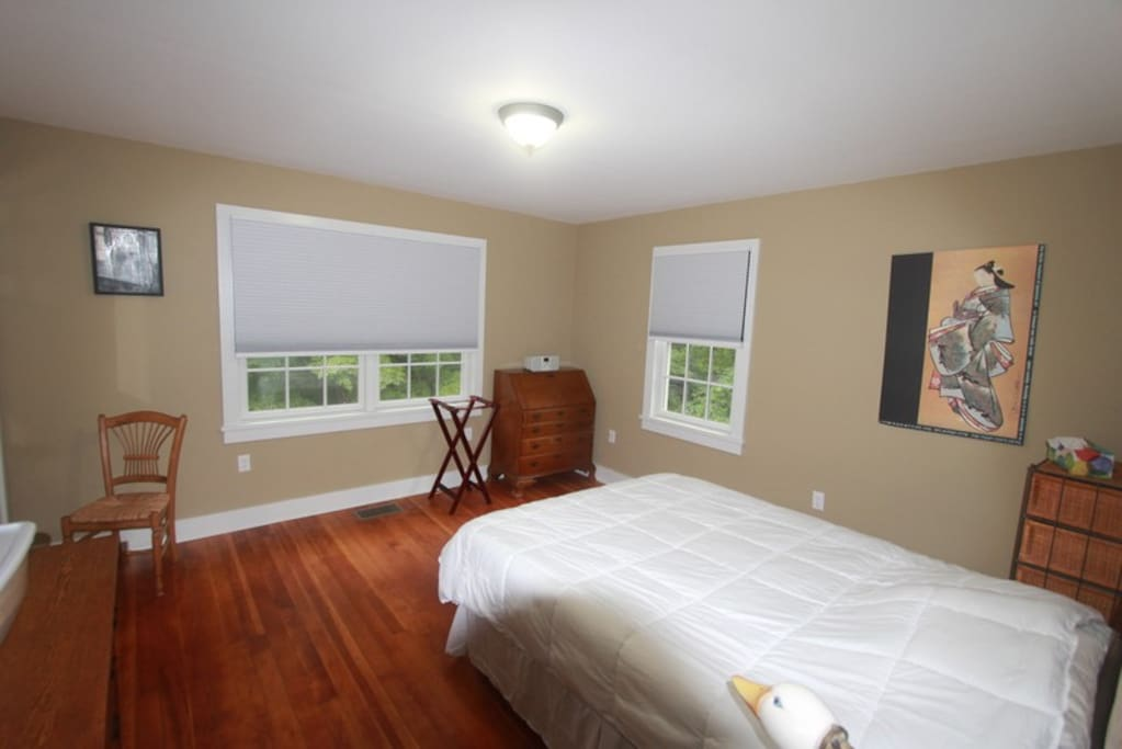 """The """"Taupe"""" Bedroom with Queen bed"""