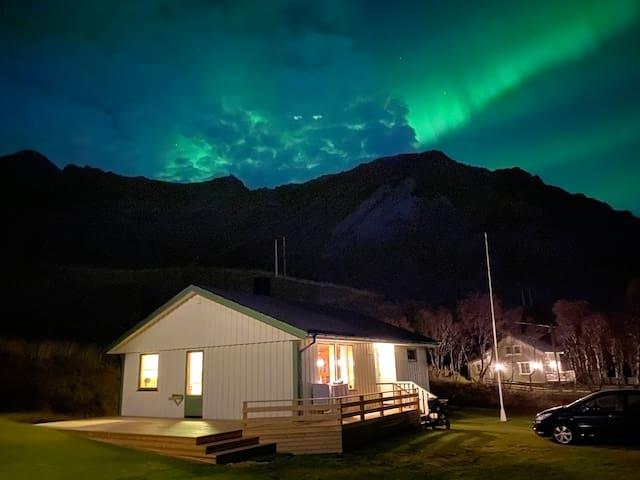 Lofoten- Feriehus med fantastisk beliggenhet!