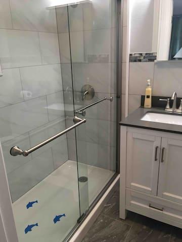 Love the remodeled bath