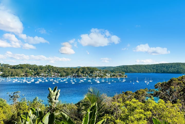 House over Pittwater, Palm Beach