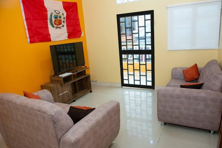 Atahualpa Suites Piso 2. Modern & Clean w/ Balcony