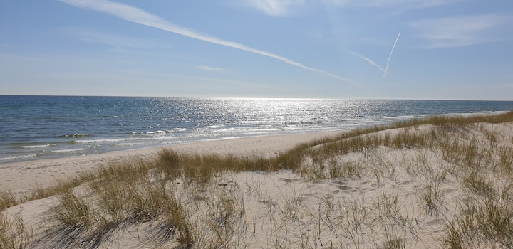Sandhammaren, vita sandstränder med underbar natur