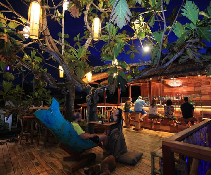Dormitory at The Tree House Kuta Lombok