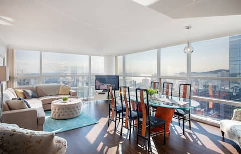 OceanView 1200sqft Spacious Bright CentralDowntown