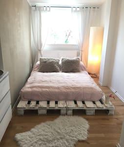 Sonniges gemütliches Zimmer - Hamburg - Apartment