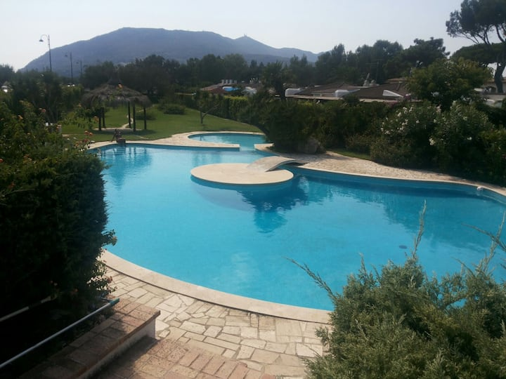Charming family home with pool - San Felice Circeo
