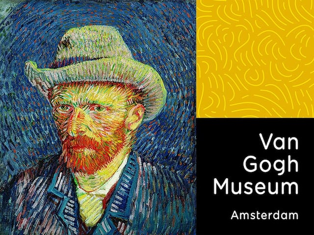 The Home of Van Gogh is Located On The Museum Square, Not Far From Your Studio