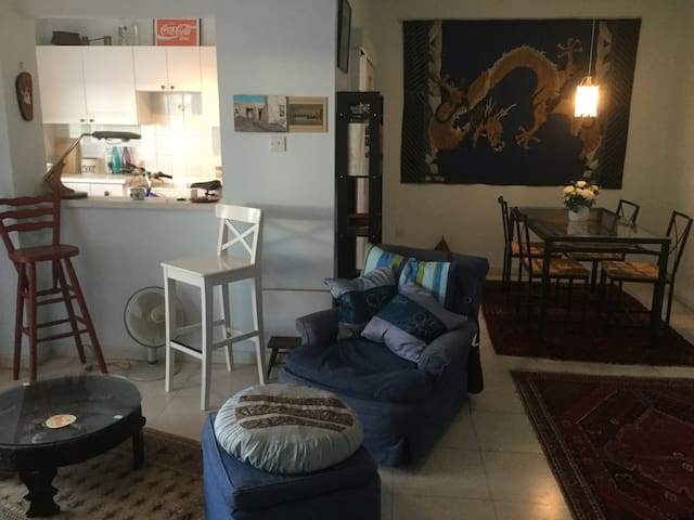 Cosy and bright, nearby to beach and tourist areas - Larnaca - Appartement