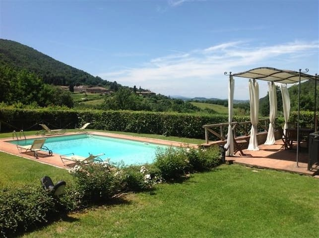 Chianti house with pool - Greve in Chianti - Casa
