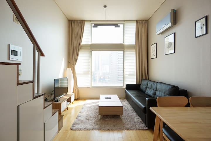 Loft type Apartment 16min to Gangnam station B12