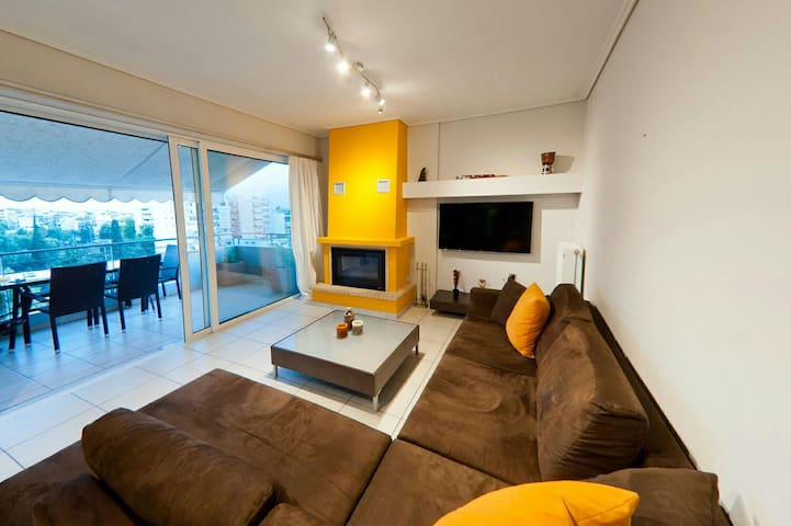 Luxury apartment Acropolis view - Athina - Wohnung