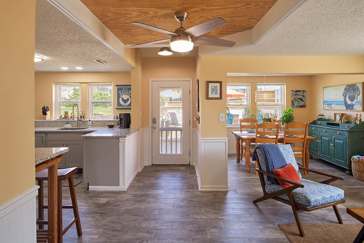 The OBX Coast Office! Charming Beach Road Cottage