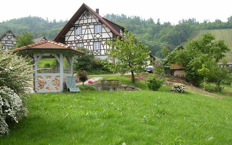 Urlaub auf dem Weingut - im Fachwerkhaus (GG)