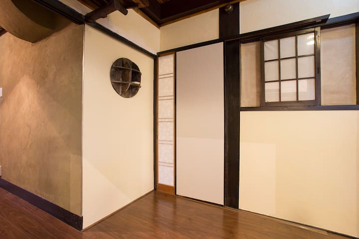 Short walk to Kita!  Room in a clean guest house
