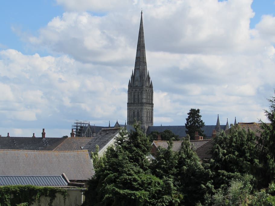 View of Cathedral From Apartment