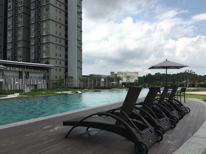 Cosy Hyve Suite Cyberjaya/Putrajaya/KLIA - WiFi