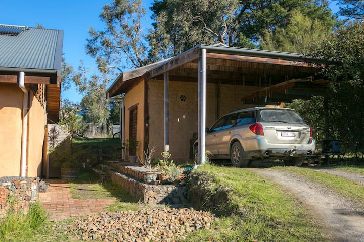 carport for use during your stay attached to the studio