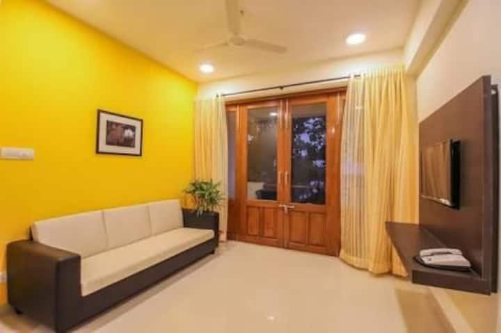2BHK fully service apartment near Vagator Beach