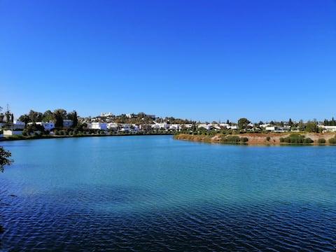 CARTHAGE: Appart avec piscine à 50m de la plage