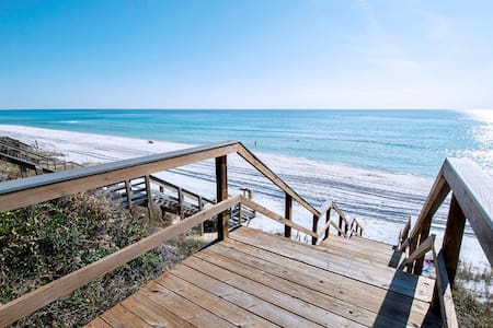 Beach Front-Ground Floor-30A Seacrest Bch🌞2 Step Sanitizing Process🌞Ramsgate 3