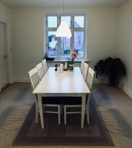 Common dining room / kitchen
