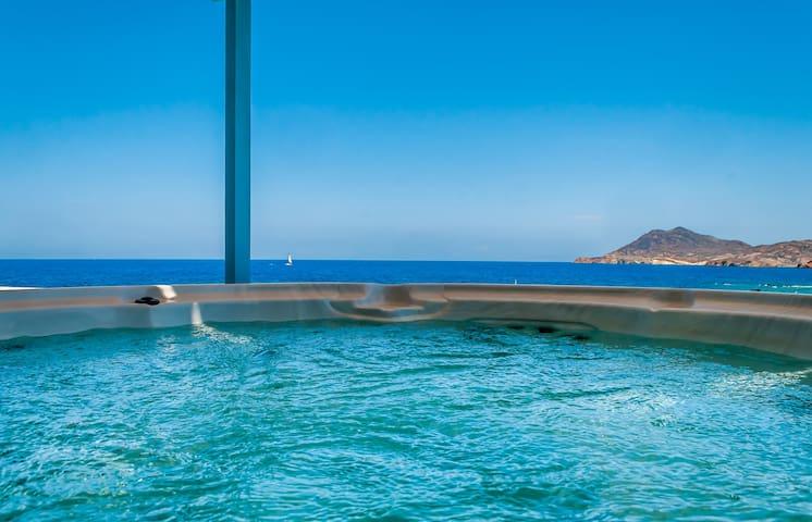 Unique place,relax, amazing view,   Villa Marisol - Pollonia - Villa