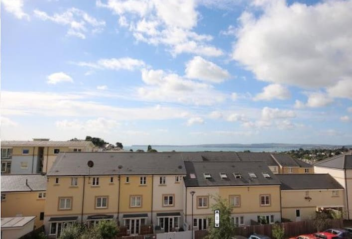 Light and airy house, sea views, beaches nearby - Torquay - Casa