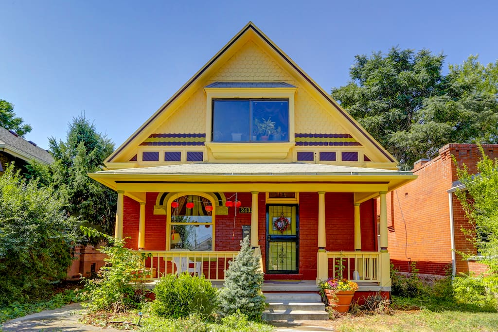 Bright and cheerful, you'll love calling this home! An excellent example of Denver's reclamation of 19th century homes - lovingly restored