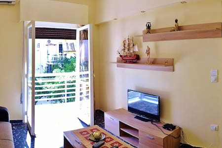 Private apartment 200 meters from the sea - Loutraki