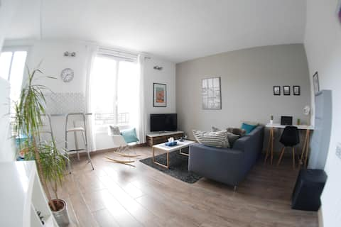Cozy apartment, AMAZING VIEW and great location
