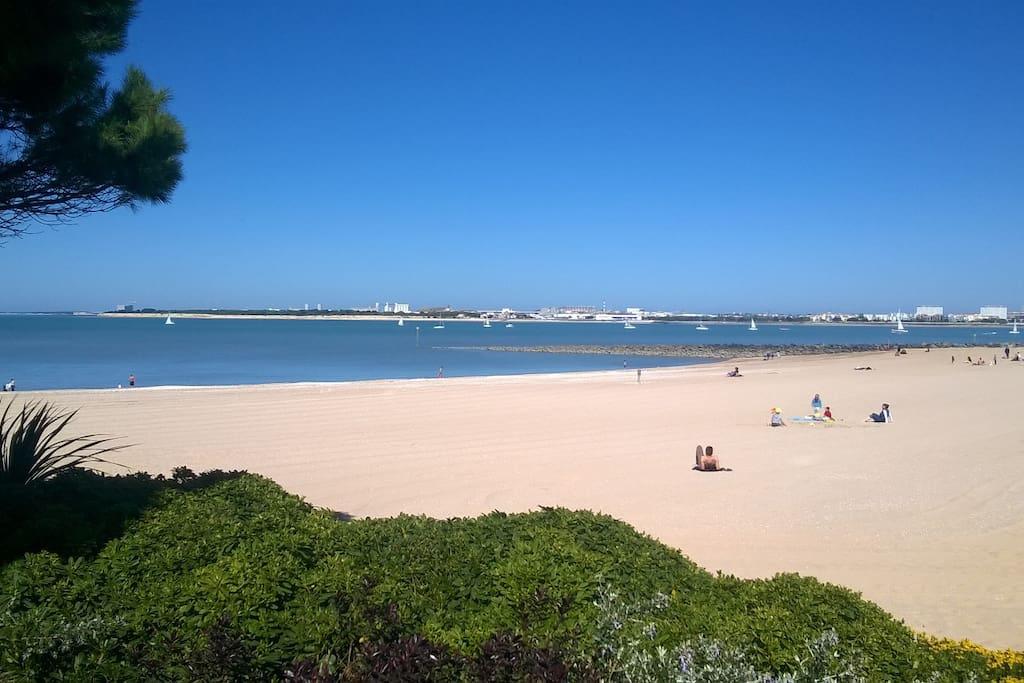 La plage (à 30 mètres)