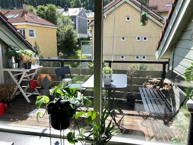 From living room to terrace