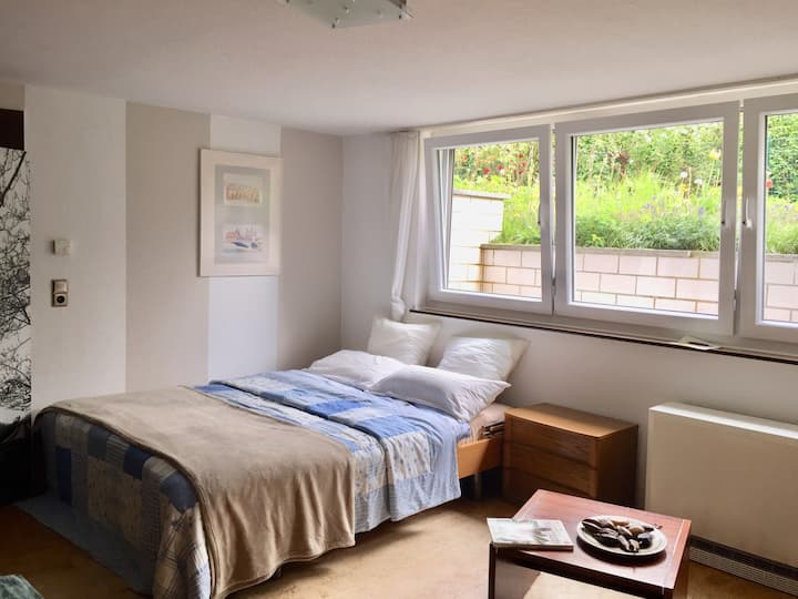 Double room in an Affluent Bonn Suburb