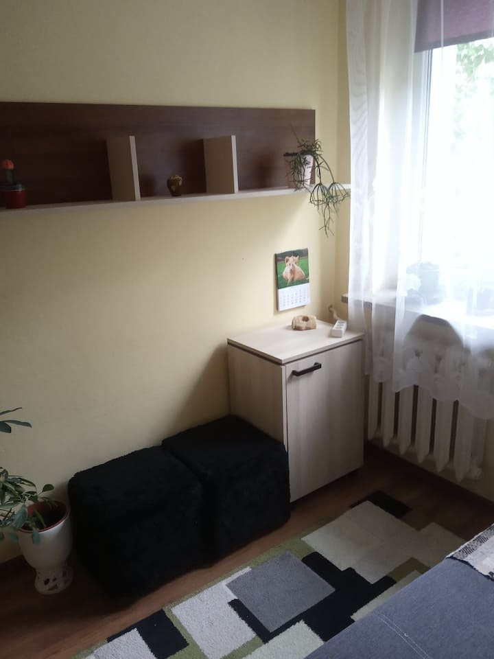 Cosy Rooms in the heart of Suwałki. Easy access.