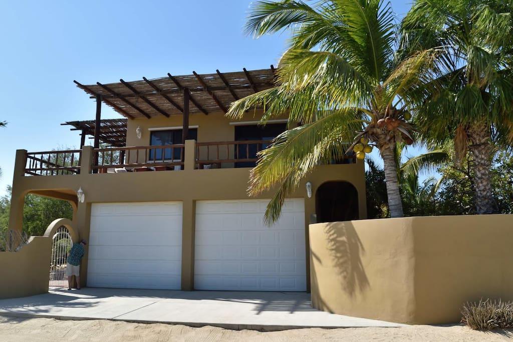Front of Casa Sirena