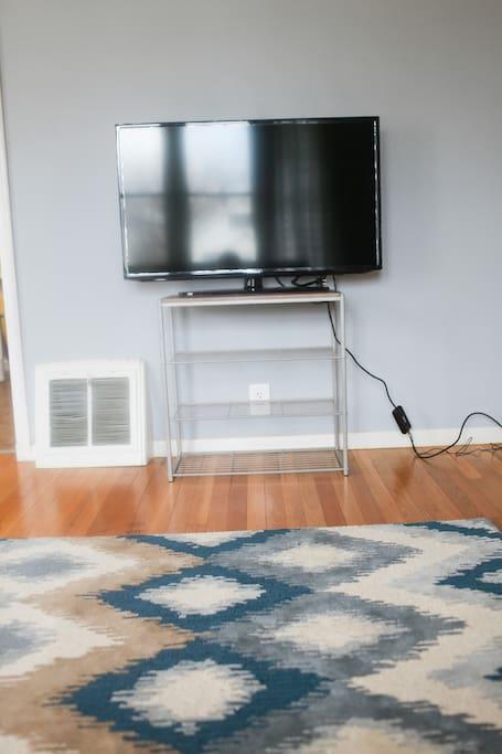 A brand new smart tv.