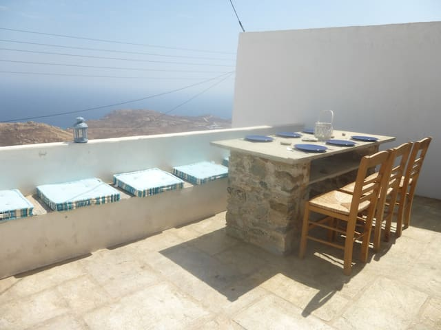 Serifos House with a View to the East
