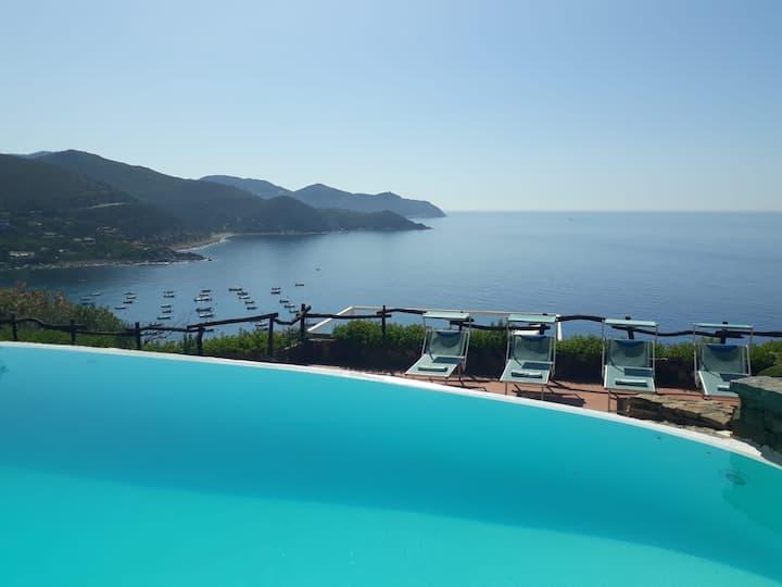 Amazing view from Villa Armonia!