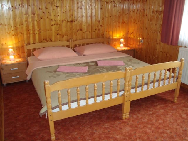 Room, in Slunj near Plitvice national park