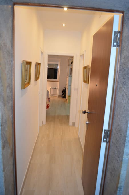 Entrance into apartment