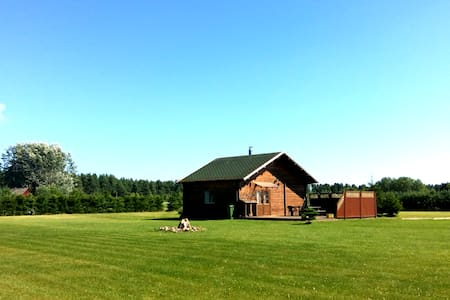 Holiday-nature, sauna and freedom! Wifi, A/C, BBQ